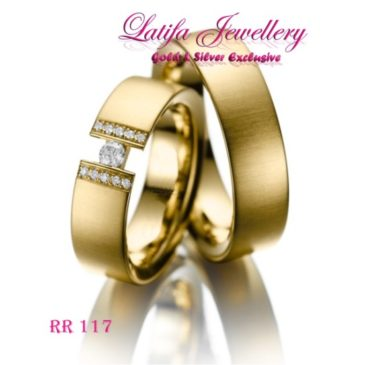 Cincin Couple Emas Rr 117 Toko Perhiasan Online Terbaik