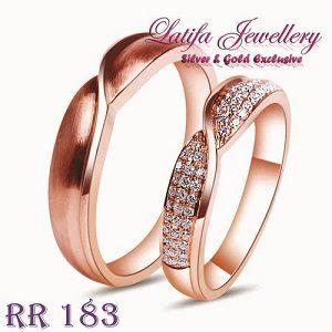 Cincin Tunangan RR183 - Toko Perhiasan Online TERBAIK - Cincin Kawin ... 2acbc28a68
