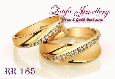 cincin kawin cincin tunangan cincin pernikahan cincin berlian emas perak palladium platinum jual cincin platina murah terbaru cincin titanium murah RR185