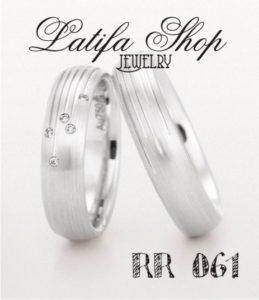 cincin tunangan emas putih perak di jari dan harganya terbaru berlian terindah couple murah simple emas putih perak di jari dan harganya terbaru palladium platina rr061
