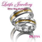 cincin tunangan emas putih perak di jari dan harganya terbaru berlian terindah couple murah simple emas putih perak di jari dan harganya terbaru palladium platina rr094