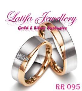 cincin tunangan emas putih perak di jari dan harganya terbaru berlian terindah couple murah simple emas putih perak di jari dan harganya terbaru palladium platina rr095