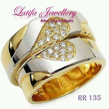 Cincin Tunangan Love Berlian Rr 135 Toko Perhiasan Online Terbaik