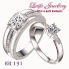 cincin kawin cincin tunangan cincin pernikahan cincin berlian emas perak palladium platinum jual cincin platina murah terbaru cincin titanium murah RR191