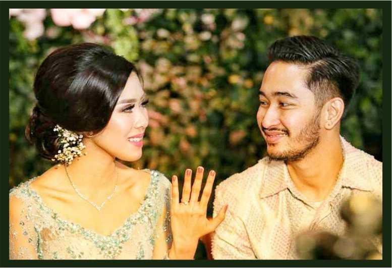 cincin kawin Syahnaz jeje govinda nikah bikin pernikahan tempat bikin jual