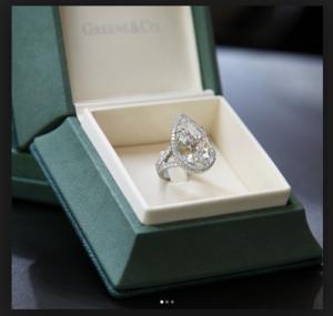 model cincin tunangan cincin lamaran kawin berlian paris hilton berlian besar